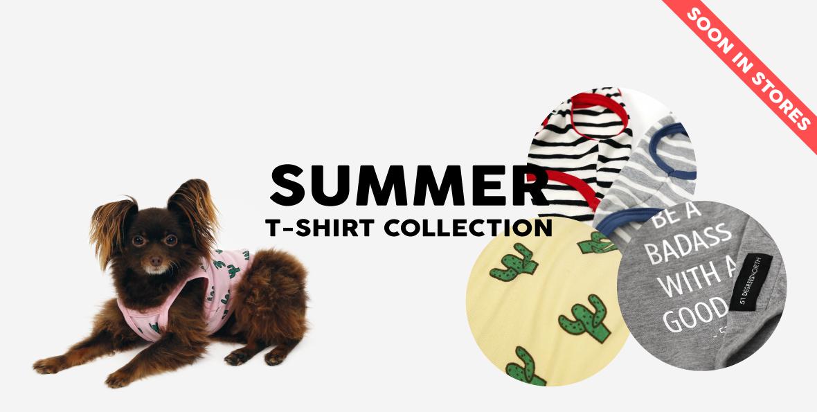 Summer t-shirt collection 2017