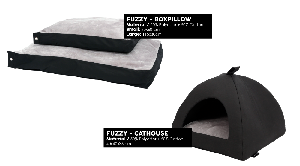 Fuzzy Boxpillow Cathouse