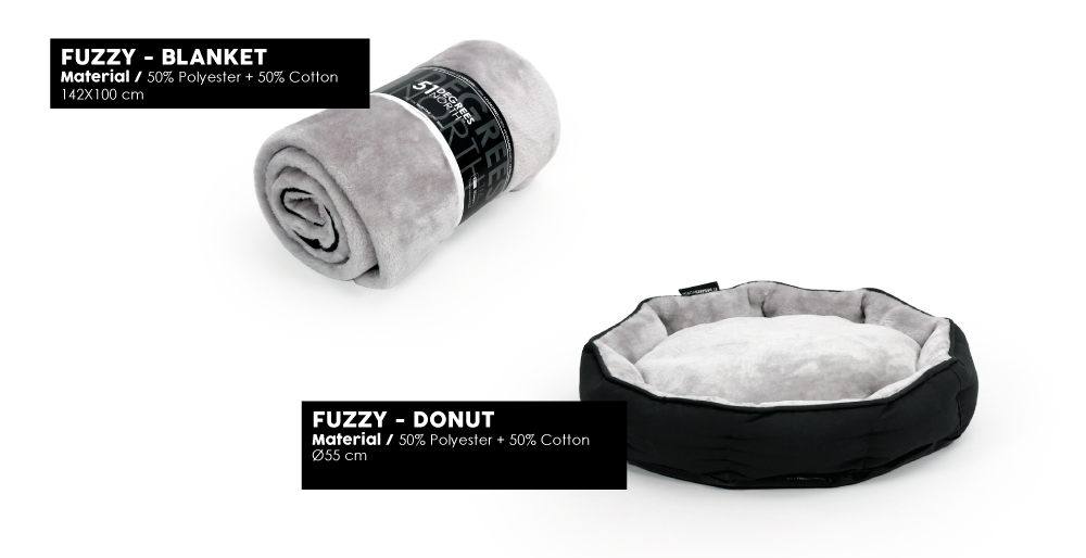 Fuzzy Blanket Donut