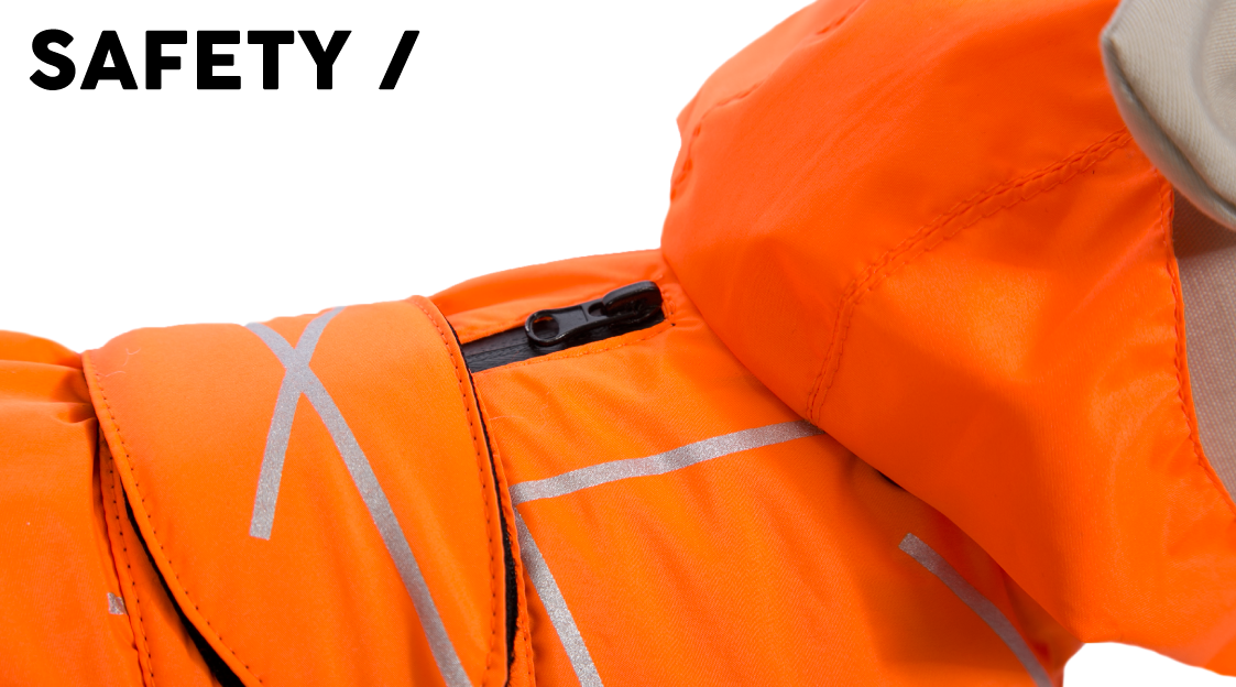 51 Degrees North Dress All year Safety Fluo Jacket banner