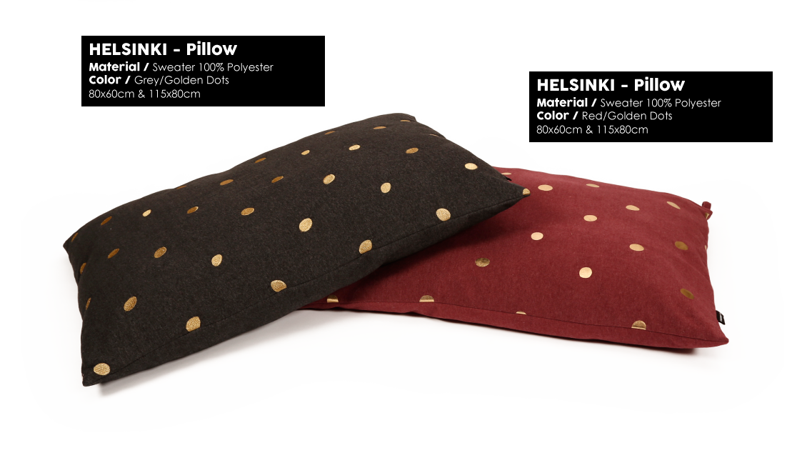 Helsinki Pillow Dots