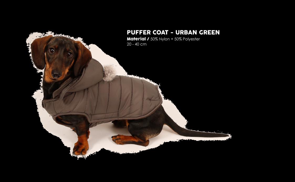 Puffer Coat Urban Green