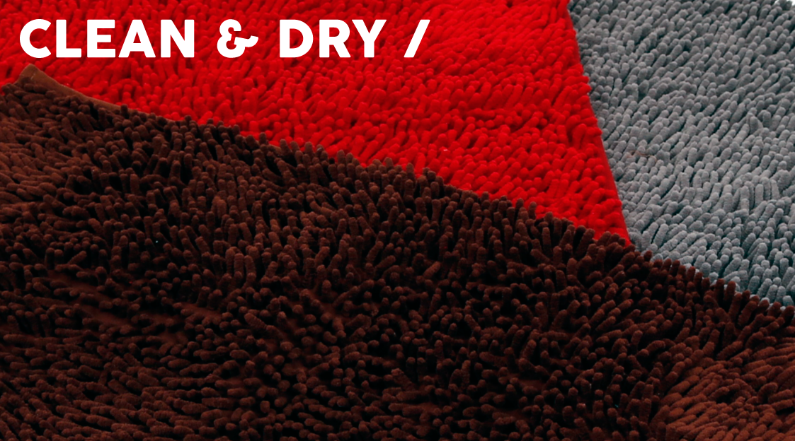 Clean & Dry Banner