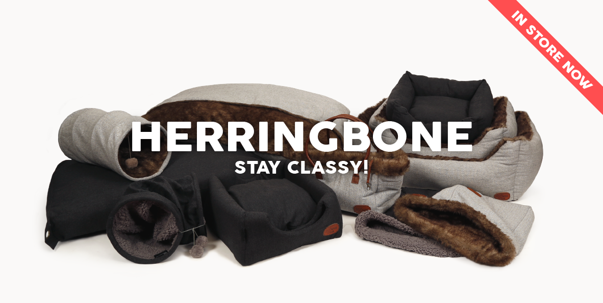 51 Degrees North Homepage Herringbone Grey in store now