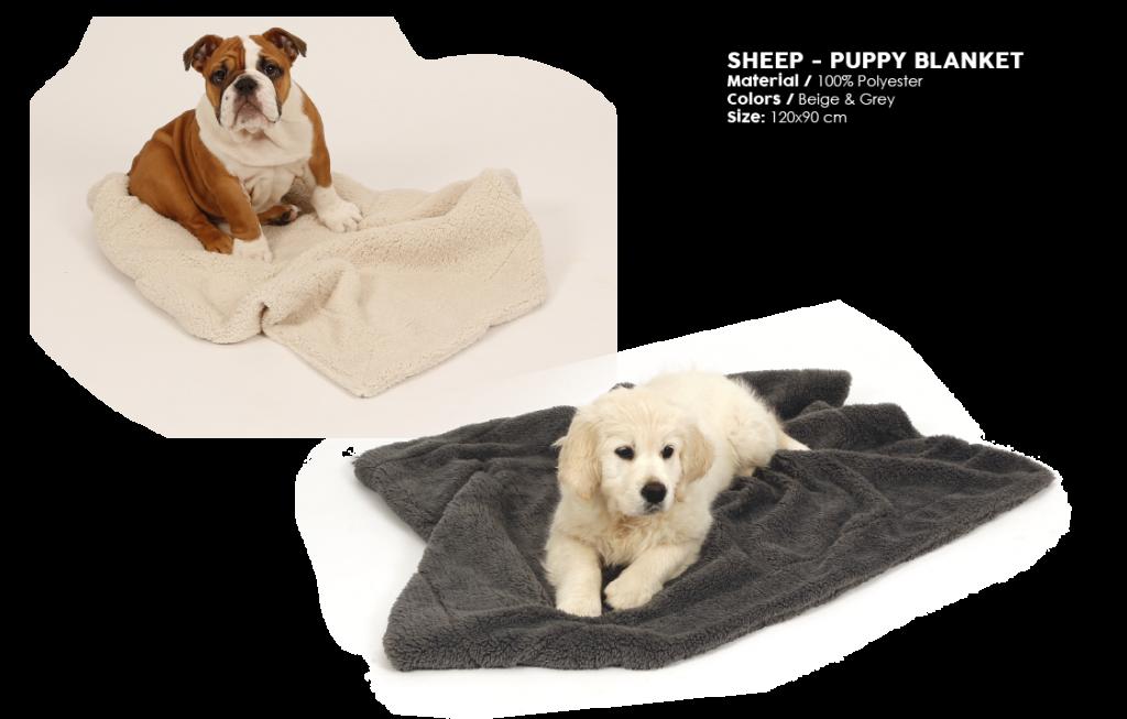 51DN Sheep 12 Puppy blanket