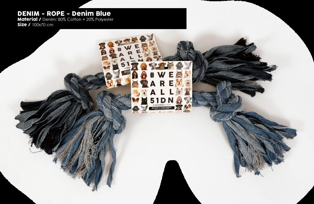 Denim-Rope toy