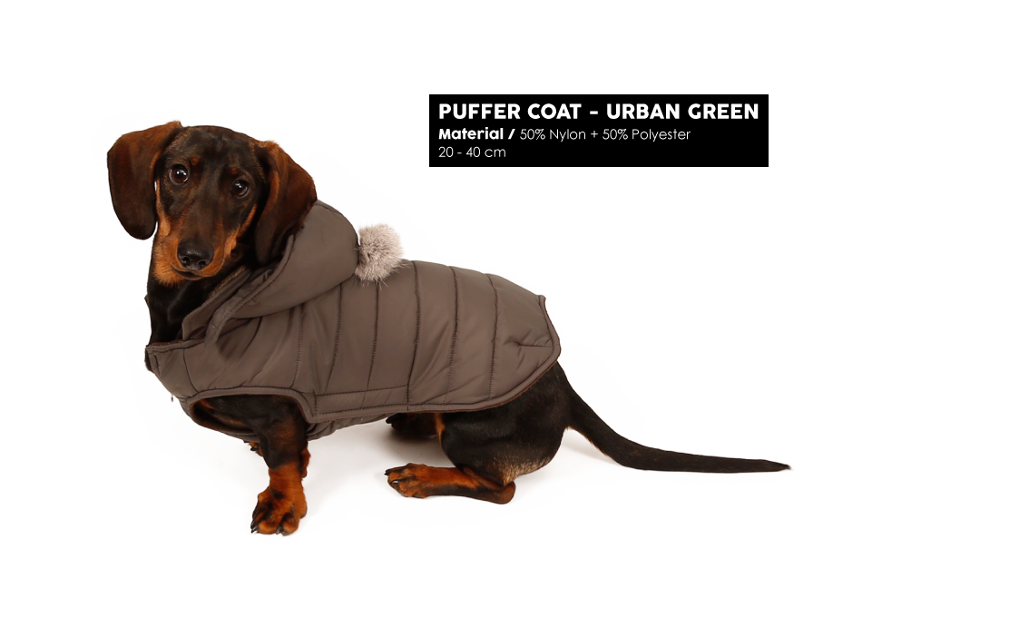 Puffer Coat Urban Green