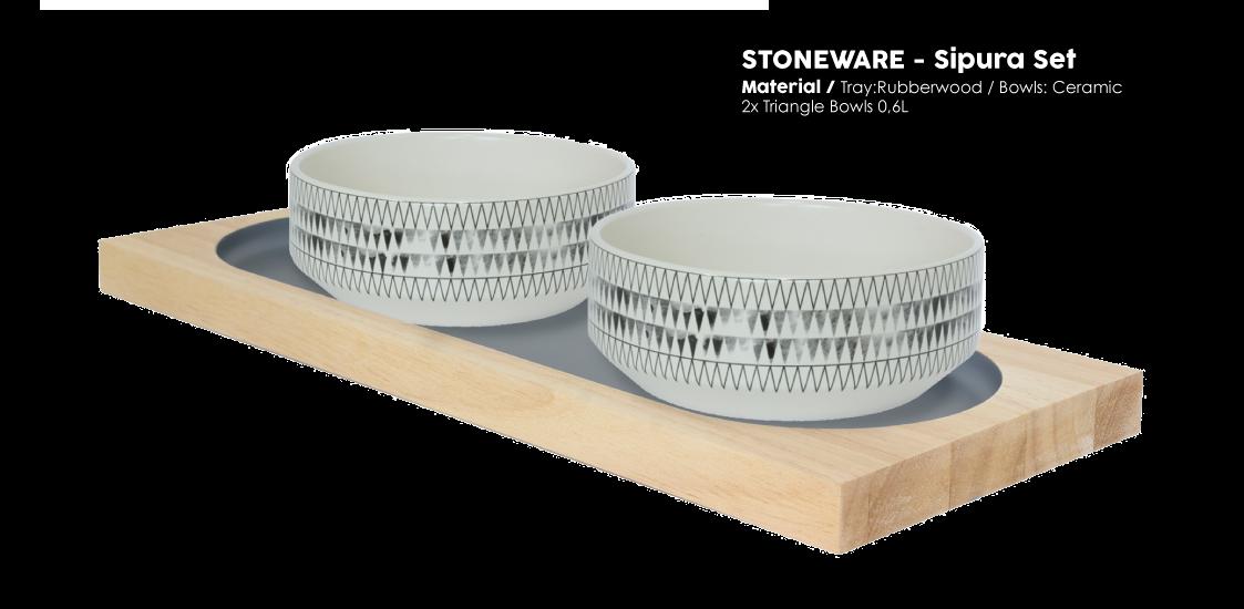 Stoneware Sipura Set