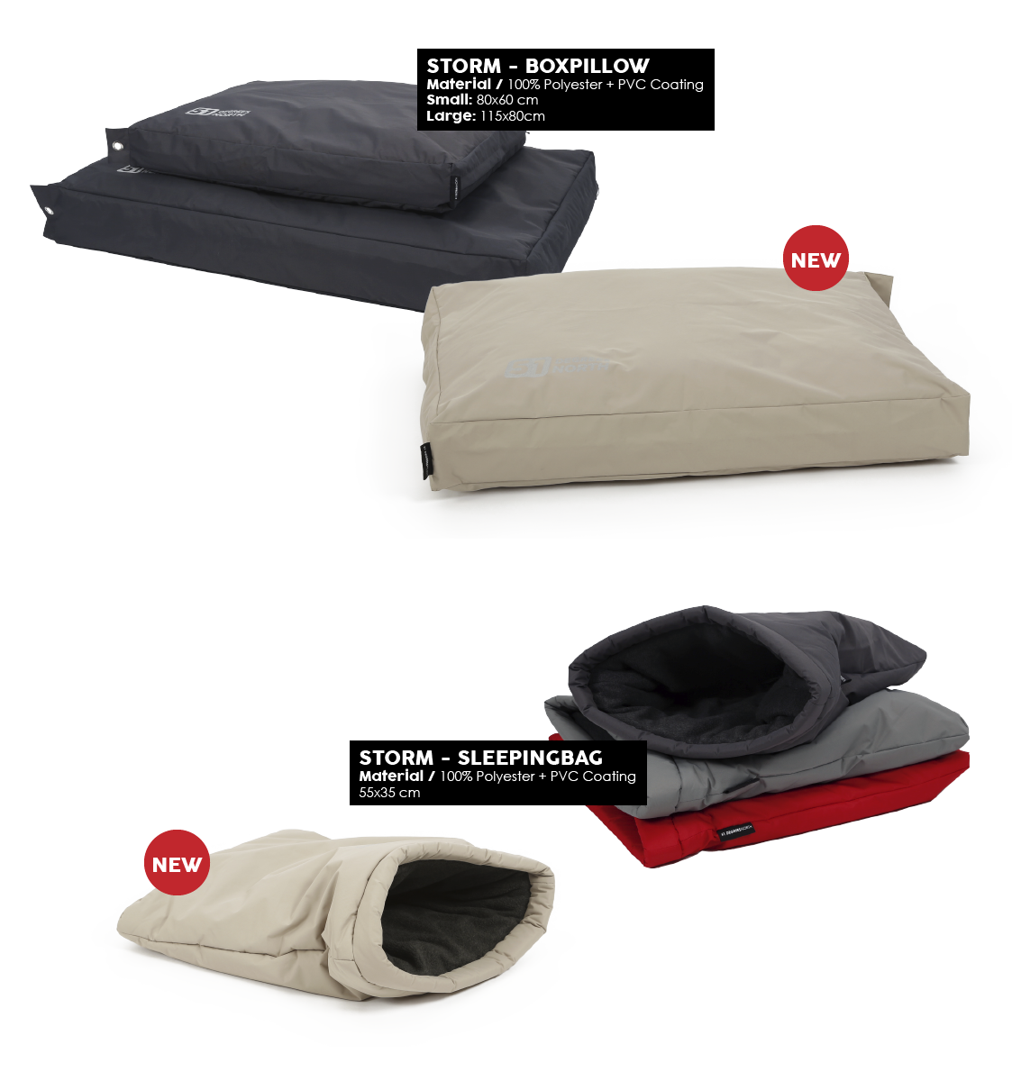 51 Degrees North Storm Boxpillow Sleepingbag