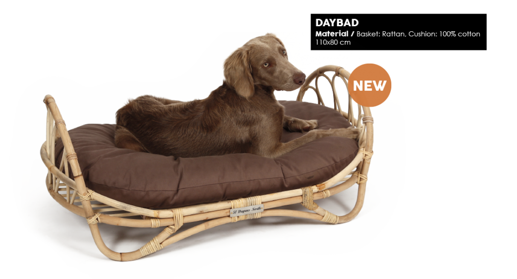51 Degrees North Woven Dog Daybed2