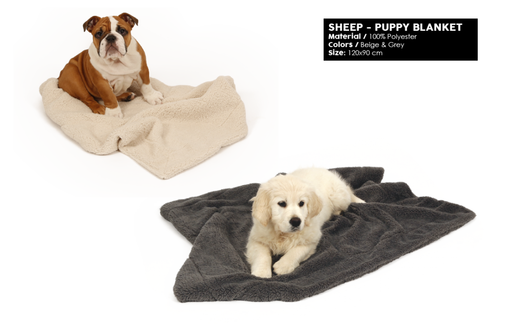 51DN Sheep 12 Puppy blanket