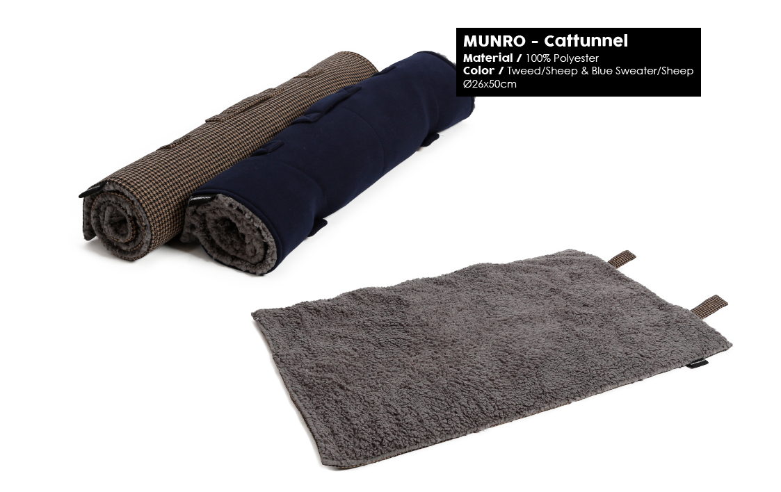51 Degrees North Munro winter 2018 travel blanket