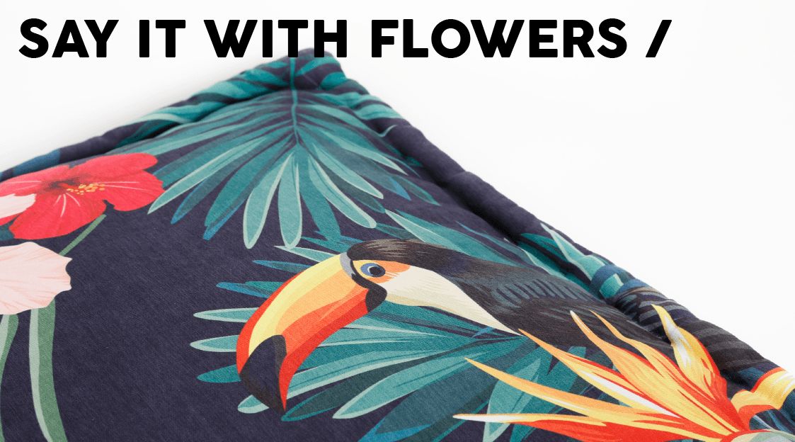 51 Degrees North - Floral - Banner