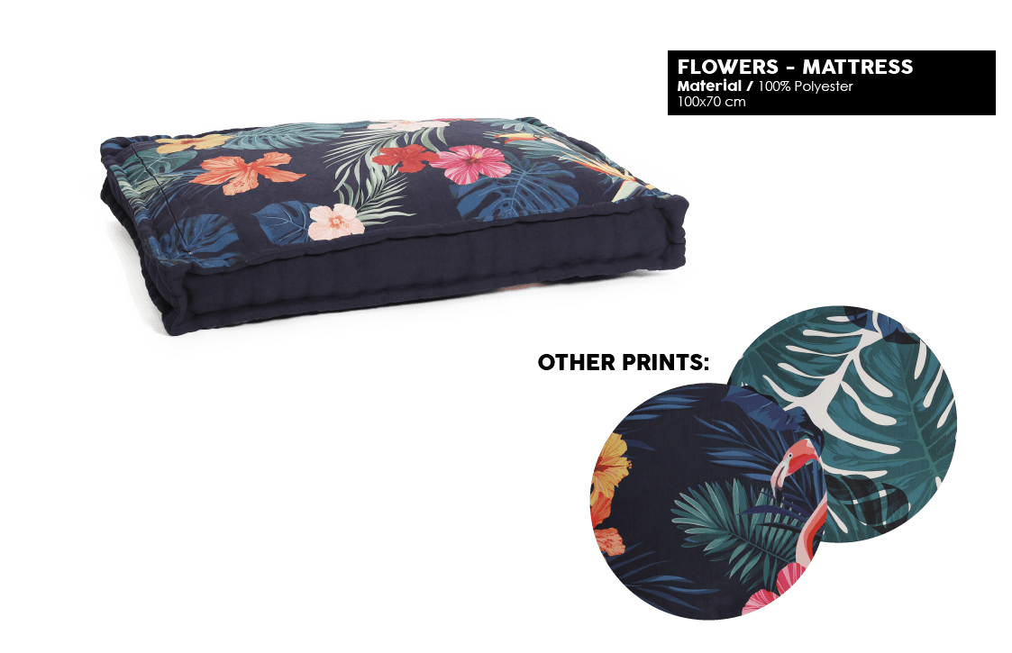 51 Degrees North - Floral - Mattress