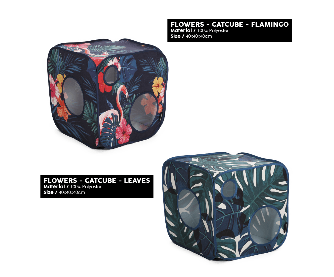 51 Degrees North - Floral - Catcube