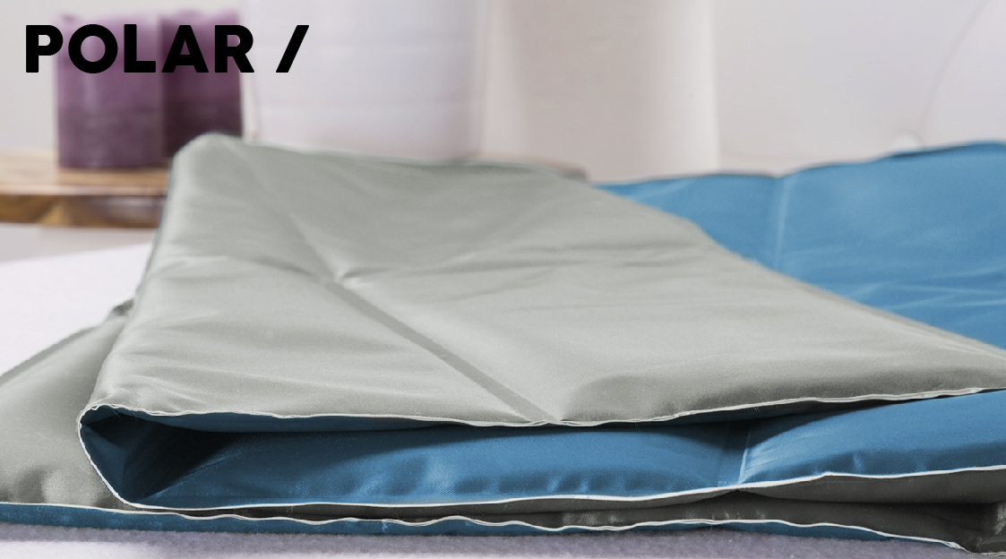 51 Degrees North Sleep Polar cooling mat Banner