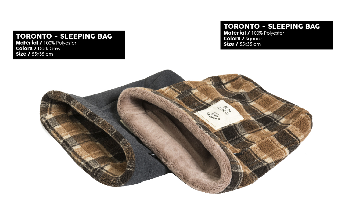 51 Degrees North Sleep Winter 2019 Toronto Sleeping Bag