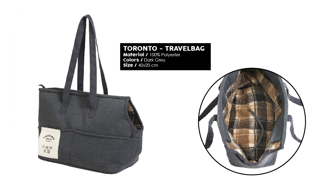51 Degrees North Sleep Winter 2019 Toronto Travelbag