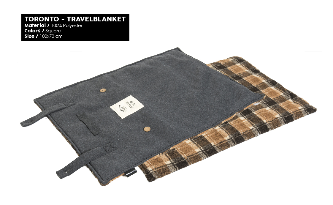 51 Degrees North Sleep Winter 2019 Toronto Travelblanket