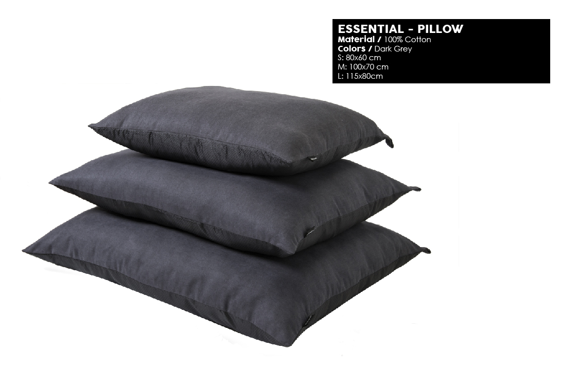 51 Degrees North All Year Essential Pillow Dark Grey