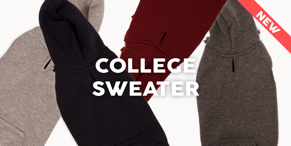 51 Degrees North - Homepage - Content - Dress - College Sweater New