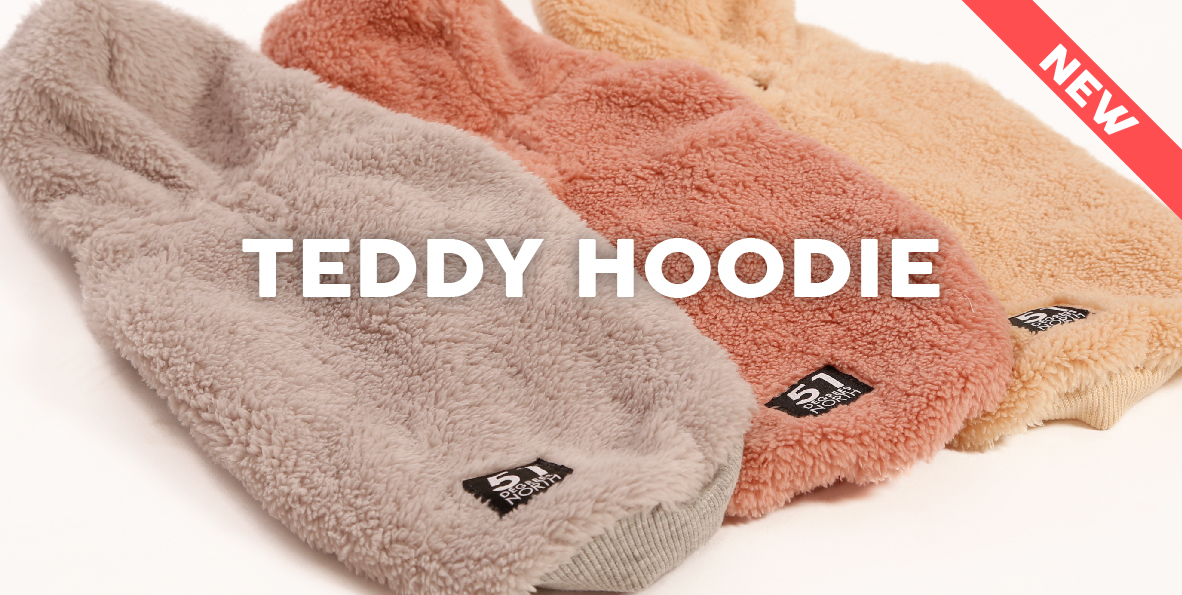 51 Degrees North - Homepage - Content - Dress - Teddy Hoodie New