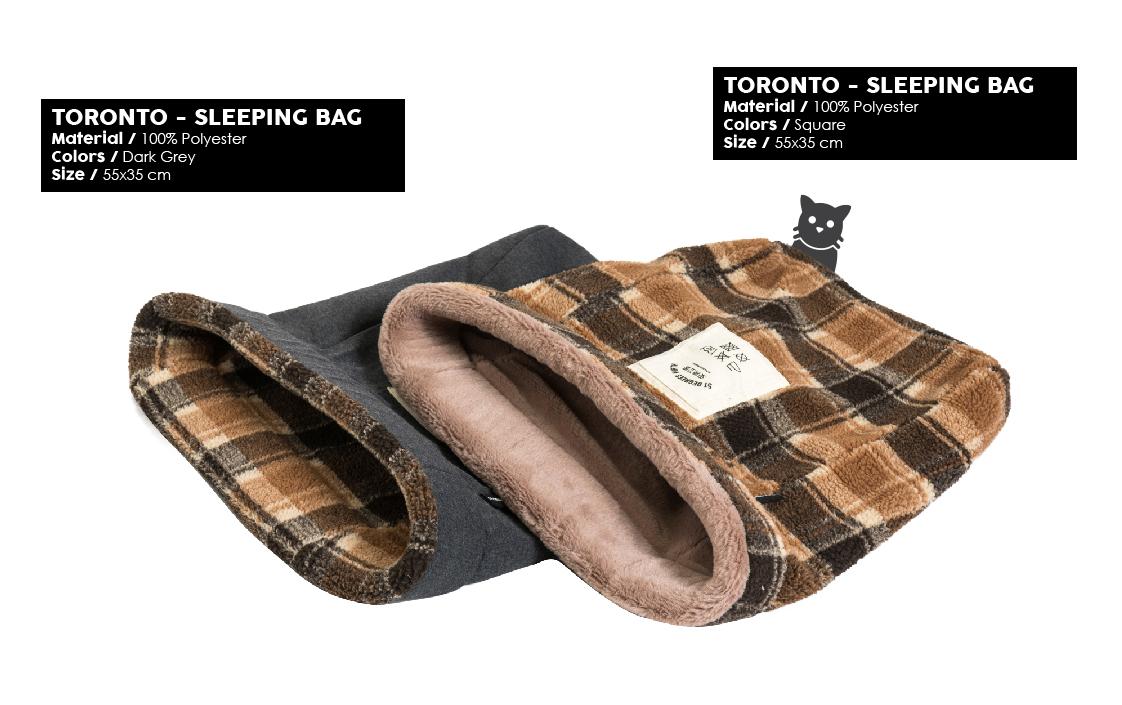 51 Degrees North Sleep Winter 2019 Toronto Sleeping Bag WDD19