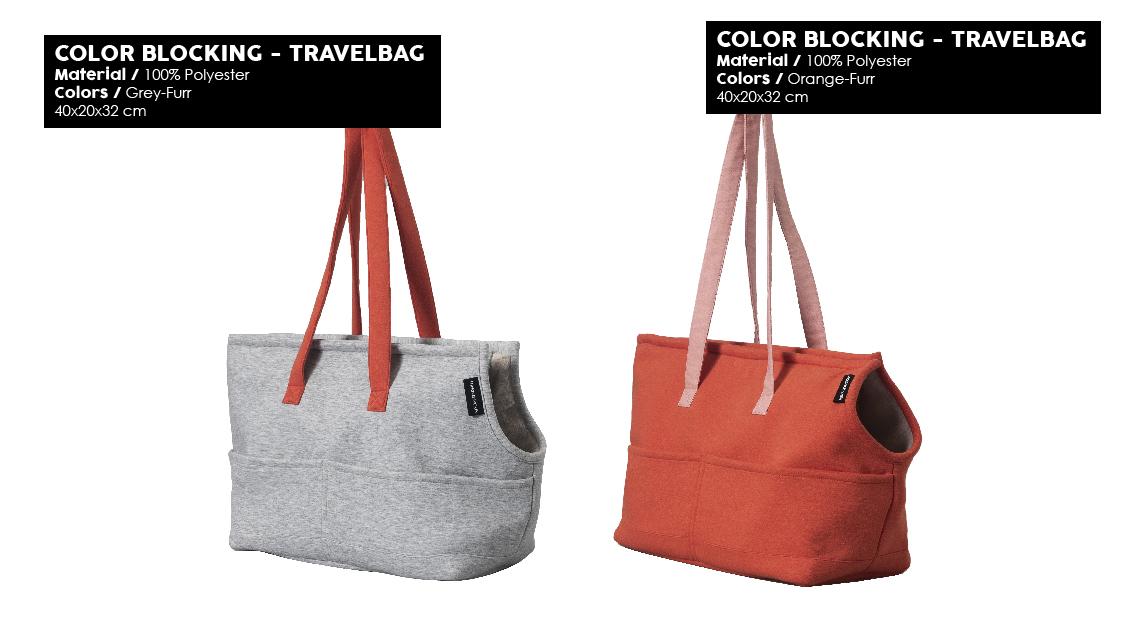 51DN - Sleep - Summer 2020 - Color Blocking - Travelbag