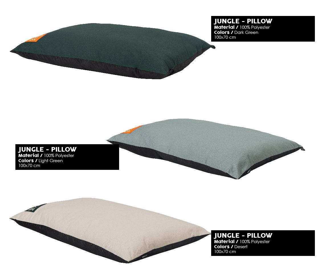 51DN - Sleep - Summer 2020 - Jungle - Pillow