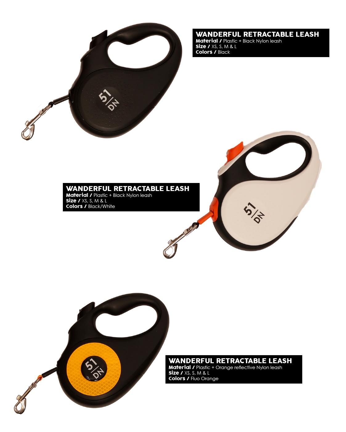 51DN - Walk - Wanderful Retractable Leash - Products1