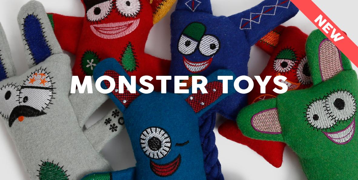 51DegreesNorth Play Monster Toys New