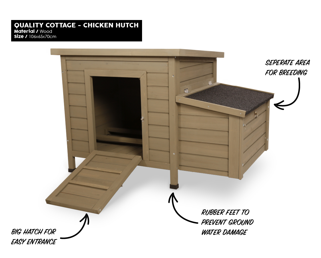 Mr.Woodson - Quality Cottage - Chicken Hutch - Products1