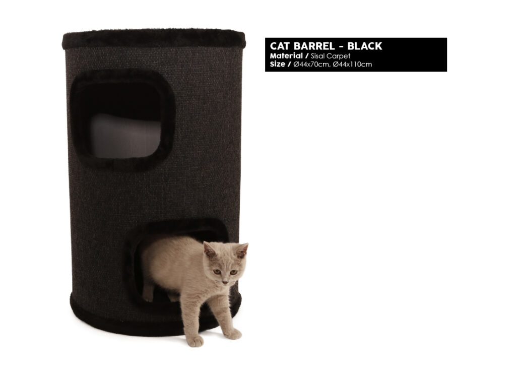 Products we Love - Cat Barrel - Black - Product