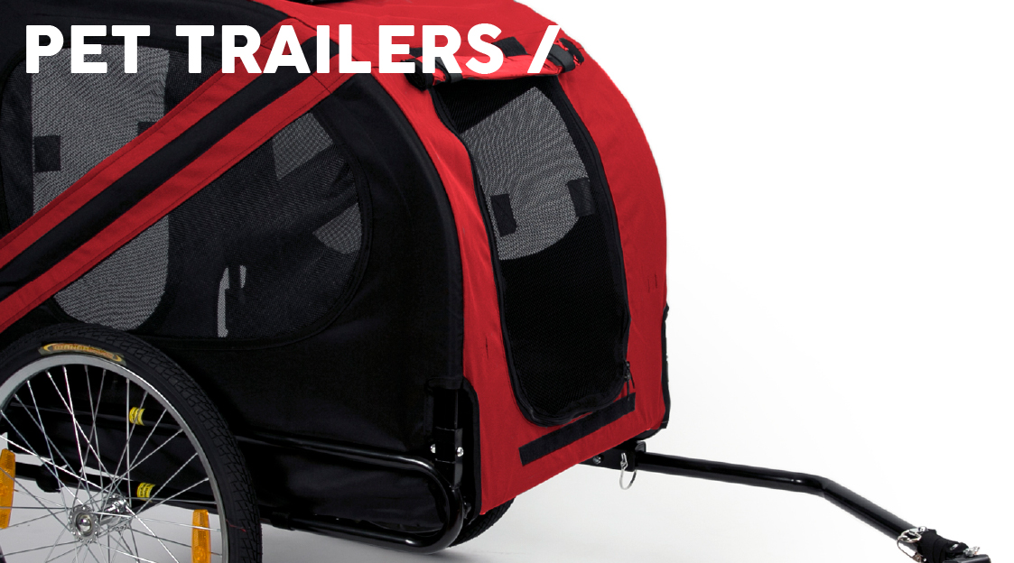 Products we Love - Pet Trailer - Banner