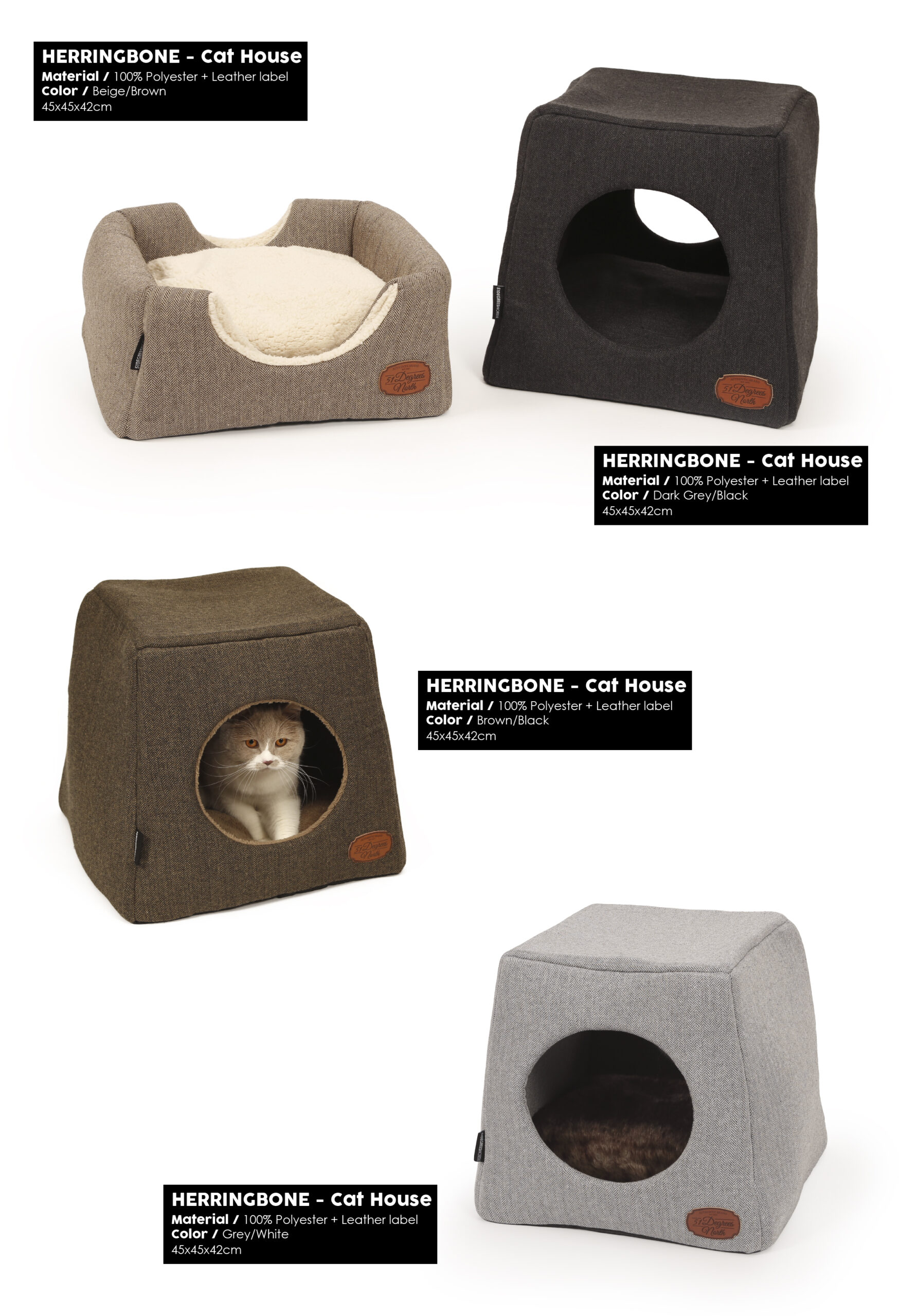 51DN - Herringbone - Cat House